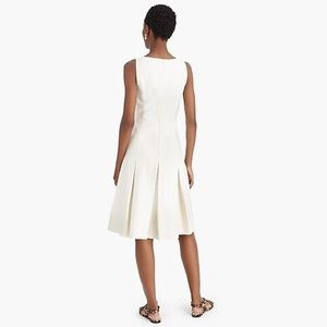 J. Crew Dresses - J. Crew Pleated A-line Dress in Structured Linen